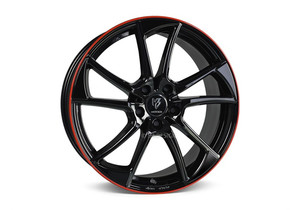 mbDesign MB1 Black Red Shinny