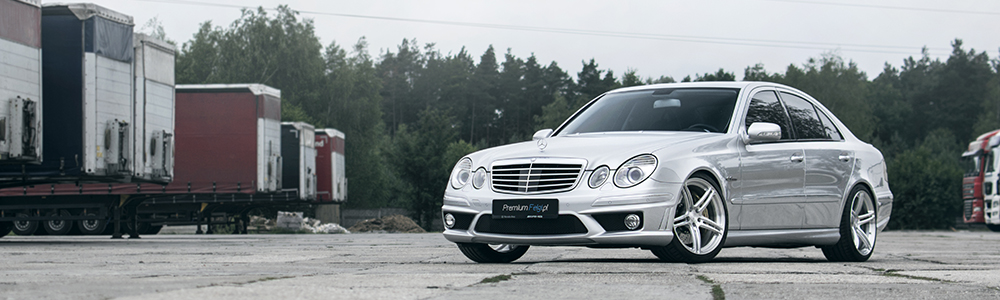 Mercedes E63 AMG W211 | BC Forged